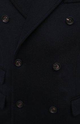Мужской пальто из шерсти и кашемира ELEVENTY темно-синего цвета, арт. B70CAPB08 TES0B123 | Фото 5