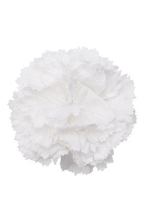 Мужская брошь BRIONI белого цвета, арт. 01A000/0804M | Фото 1