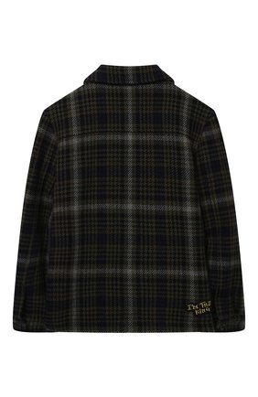 Детское шерстяная куртка DOLCE & GABBANA разноцветного цвета, арт. L41C97/G7XLY/8-14 | Фото 2