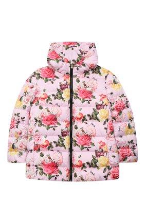 Детская куртка PHILIPP PLEIN розового цвета, арт. F20C GRB0148 PNY002N | Фото 1