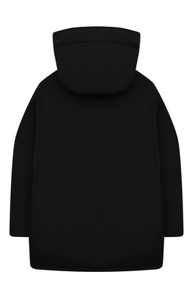 Детский пуховая парка WOOLRICH черного цвета, арт. CFWK0U0125MR/UT0641 | Фото 2