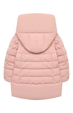 Детского пуховая куртка WOOLRICH розового цвета, арт. CFWK0U0106FR/UT0573/4-6 | Фото 2