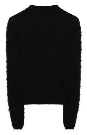 Детский шерстяной пуловер SIMONETTA черного цвета, арт. 1N9040/NF130/5-8 | Фото 2