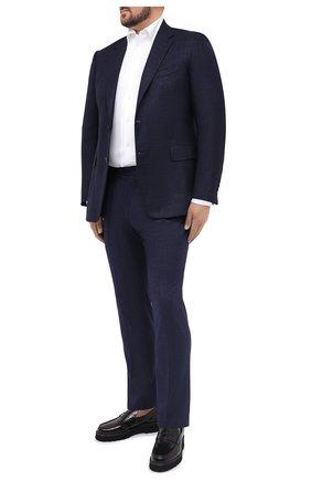 Мужская хлопковая рубашка SONRISA белого цвета, арт. IFJ7167/J133   Фото 2