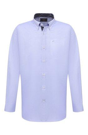 Мужская хлопковая сорочка PAUL&SHARK голубого цвета, арт. I20P3011/C00   Фото 1
