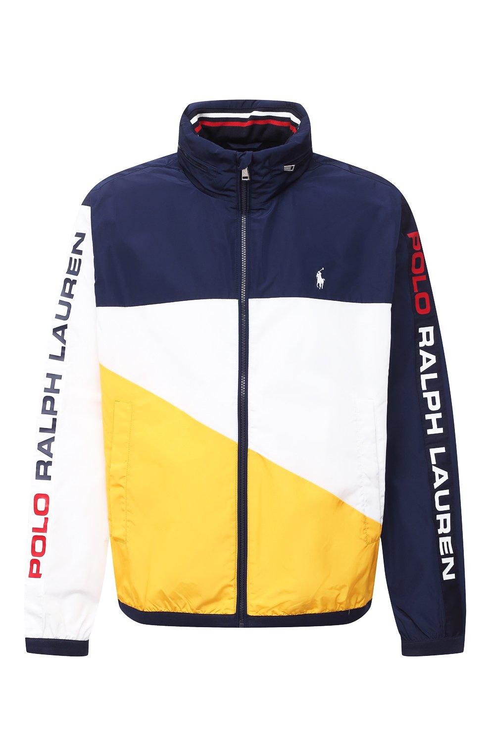 Мужская куртка POLO RALPH LAUREN разноцветного цвета, арт. 711803374/PRL BS   Фото 1 (Кросс-КТ: Куртка, Ветровка; Big sizes: Big Sizes; Рукава: Длинные; Материал внешний: Синтетический материал; Мужское Кросс-КТ: Куртка-верхняя одежда, Верхняя одежда; Материал подклада: Синтетический материал; Длина (верхняя одежда): Короткие; Стили: Кэжуэл)