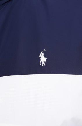 Мужская куртка POLO RALPH LAUREN разноцветного цвета, арт. 711803374/PRL BS   Фото 5 (Кросс-КТ: Куртка, Ветровка; Big sizes: Big Sizes; Рукава: Длинные; Материал внешний: Синтетический материал; Мужское Кросс-КТ: Куртка-верхняя одежда, Верхняя одежда; Материал подклада: Синтетический материал; Длина (верхняя одежда): Короткие; Стили: Кэжуэл)