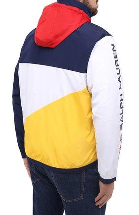 Мужская куртка POLO RALPH LAUREN разноцветного цвета, арт. 711803374/PRL BS   Фото 6 (Кросс-КТ: Куртка, Ветровка; Big sizes: Big Sizes; Рукава: Длинные; Материал внешний: Синтетический материал; Мужское Кросс-КТ: Куртка-верхняя одежда, Верхняя одежда; Материал подклада: Синтетический материал; Длина (верхняя одежда): Короткие; Стили: Кэжуэл)