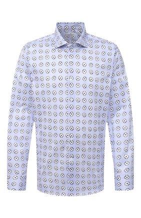 Мужская хлопковая рубашка SONRISA голубого цвета, арт. IFJ15/J812/47-51 | Фото 1