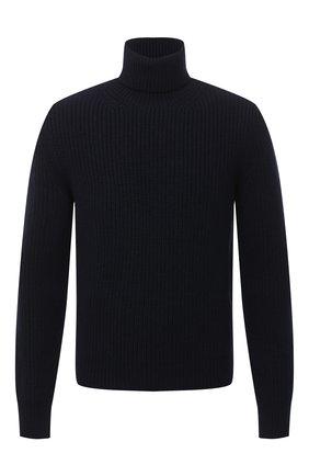 Мужской кашемировый свитер TOM FORD темно-синего цвета, арт. BVK54/TFK120 | Фото 1