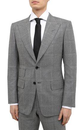 Мужской шерстяной костюм TOM FORD серого цвета, арт. 822R34/21AL43 | Фото 2