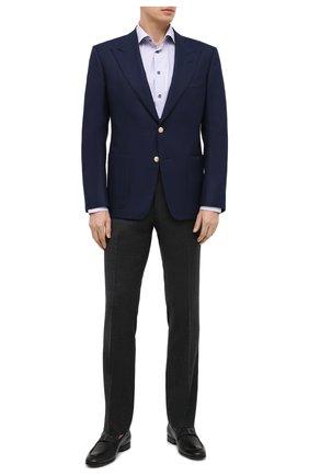 Мужские кожаные лоферы TOD'S черного цвета, арт. XXM51B0DH000LW | Фото 2