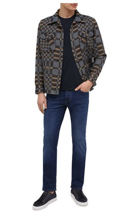 Мужская хлопковая куртка RRL разноцветного цвета, арт. 782799929 | Фото 2