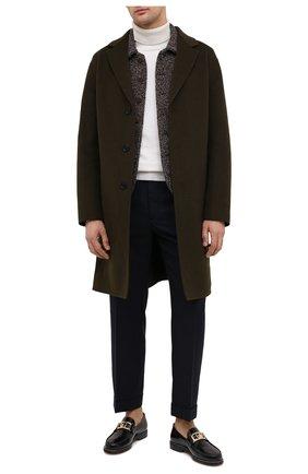 Мужской пиджак из кашемира и шелка GIORGIO ARMANI бежевого цвета, арт. 0WGGG0IC/T026B   Фото 2