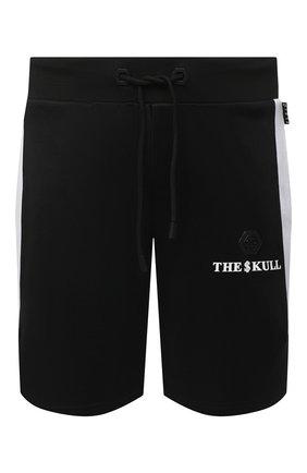 Мужские шорты PHILIPP PLEIN черного цвета, арт. F20C MJT1668 PJO002N | Фото 1