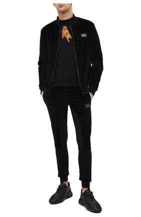 Мужская толстовка PHILIPP PLEIN черного цвета, арт. F20C MJB2009 PJO002N | Фото 2