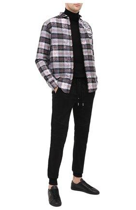 Мужская рубашка PHILIPP PLEIN серого цвета, арт. F20C MRP1358 PTE003N | Фото 2