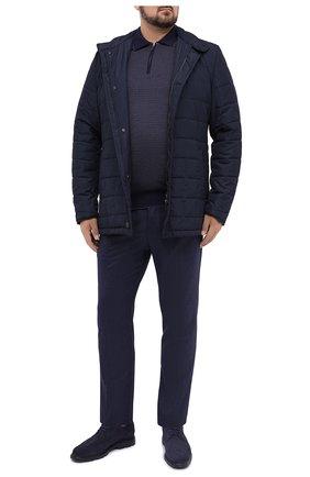 Мужское поло из кашемира и шелка SVEVO синего цвета, арт. 06242XSA20/MP06/2 | Фото 2