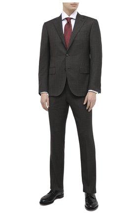 Мужской шерстяной костюм CORNELIANI коричневого цвета, арт. 867268-0817218/92 Q1   Фото 1