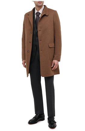 Мужская сорочка из хлопка и кашемира CANALI бежевого цвета, арт. XX14/GX01931 | Фото 2