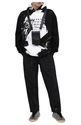 Мужская кожаная сумка A-COLD-WALL* черного цвета, арт. ACWUGL009 | Фото 2