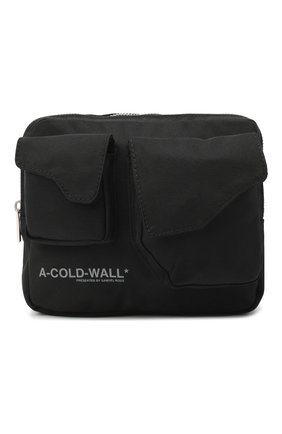 Мужская текстильная поясная сумка A-COLD-WALL* черного цвета, арт. ACWUG006 | Фото 1