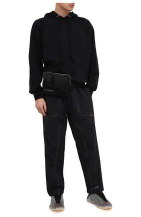 Мужская текстильная поясная сумка A-COLD-WALL* черного цвета, арт. ACWUG006 | Фото 2
