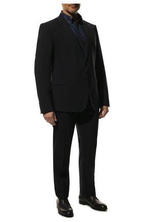 Мужской шерстяной костюм DOLCE & GABBANA темно-синего цвета, арт. GK0EMT/GE066 | Фото 1