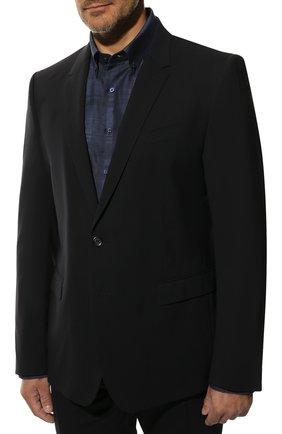 Мужской шерстяной костюм DOLCE & GABBANA темно-синего цвета, арт. GK0EMT/GE066 | Фото 2