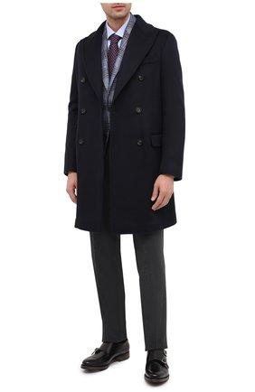 Мужские кожаные монки O`KEEFFE черного цвета, арт. 0K1523/BAR0N | Фото 2