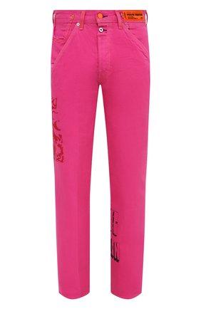 Мужские джинсы heron preston x levi's HERON PRESTON розового цвета, арт. HMYA007S209270202828   Фото 1