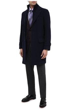 Мужская хлопковая сорочка ETON сиреневого цвета, арт. 1000 01861 | Фото 2