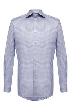 Мужская хлопковая сорочка ETON синего цвета, арт. 1000 01788 | Фото 1