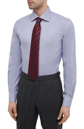 Мужская хлопковая сорочка ETON синего цвета, арт. 1000 01788 | Фото 4