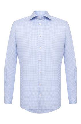 Мужская хлопковая сорочка ETON голубого цвета, арт. 1000 01788   Фото 1