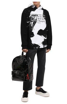 Мужской рюкзак MAISON MARGIELA черного цвета, арт. S55WA0053/P1932 | Фото 2