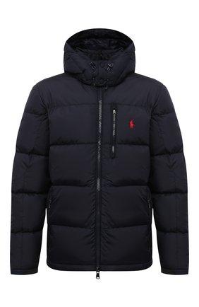 Мужская пуховая куртка POLO RALPH LAUREN темно-синего цвета, арт. 710810936   Фото 1