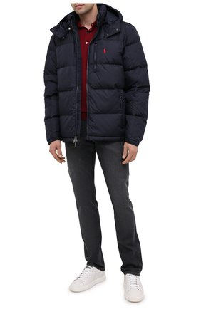 Мужская пуховая куртка POLO RALPH LAUREN темно-синего цвета, арт. 710810936   Фото 2
