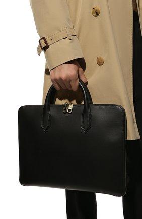 Мужская кожаная сумка для ноутбука monreale DOLCE & GABBANA черного цвета, арт. BM1710/AC954 | Фото 2
