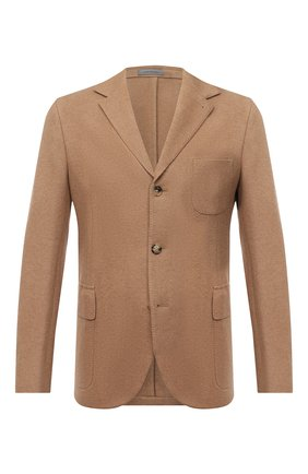 Мужской шерстяной пиджак CORNELIANI бежевого цвета, арт. 86X210-0818808/90 | Фото 1