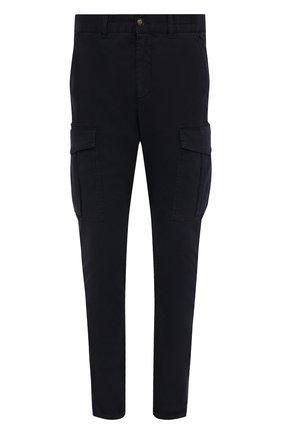 Мужские хлопковые брюки-карго ELEVENTY темно-синего цвета, арт. B70PANB05 TET0B023 | Фото 1