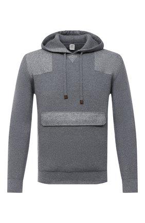 Мужской шерстяной свитер ELEVENTY серого цвета, арт. B71MAGB04 MAG0B029 | Фото 1