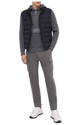 Мужской шерстяной свитер ELEVENTY серого цвета, арт. B71MAGB04 MAG0B029 | Фото 2