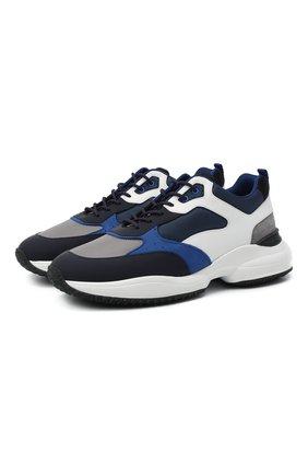 Мужские комбинированные кроссовки HOGAN разноцветного цвета, арт. HXM5450DH1000E | Фото 1