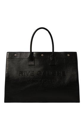 Мужская кожаная сумка noe large SAINT LAURENT черного цвета, арт. 587273/CWTFE | Фото 1