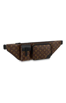 Мужская поясная сумка christopher LOUIS VUITTON коричневого цвета, арт. M45337   Фото 1