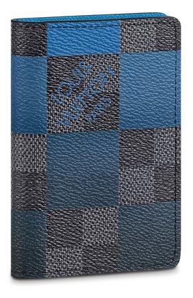 Мужской футляр для документов LOUIS VUITTON синего цвета, арт. N40412   Фото 1