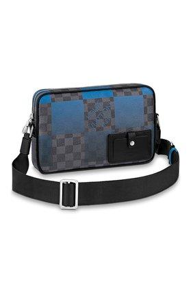 Мужская сумка alpha LOUIS VUITTON синего цвета, арт. N40408 | Фото 1