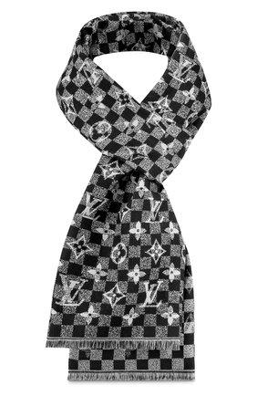 Шерстяной шарф Damier Gradient | Фото №1