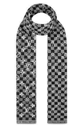 Шерстяной шарф Damier Gradient | Фото №2